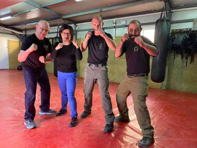 training krav maga at caliber-3
