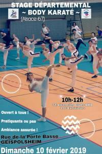 Stage Body Karaté avec Laurence Belrhiti @ Dojo Complexe Sportif Geispolsheim | Geispolsheim | Grand Est | France
