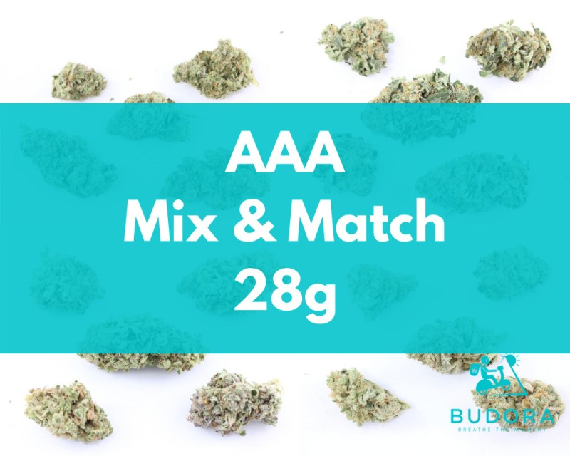 28g Mix Match AAA Same Day Delivery Vancouver Buy Weed Online