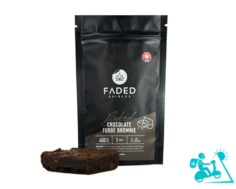THC Fudge Brownie Weed Delivery