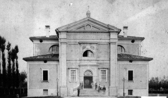 L'Ospedale Donini e Zogolari all'inizio del '900: questo luogo ha accolto il primo vero Ospedale moderno del Comune di Budrio (Archivio Montanari-Pazzaglia).