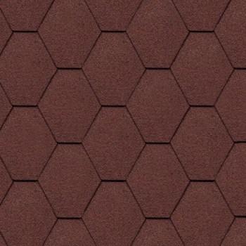 битумная-черепица-керабит-тройка-к+-ЦВЕТ-коричневый