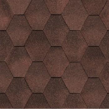 битумная-черепица-керабит-тройка-микс-к-ЦВЕТ-коричневый-микс