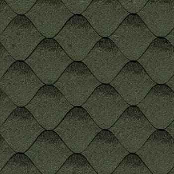 битумная-черепица-керабит-волна-с-ЦВЕТ-зелено-черный