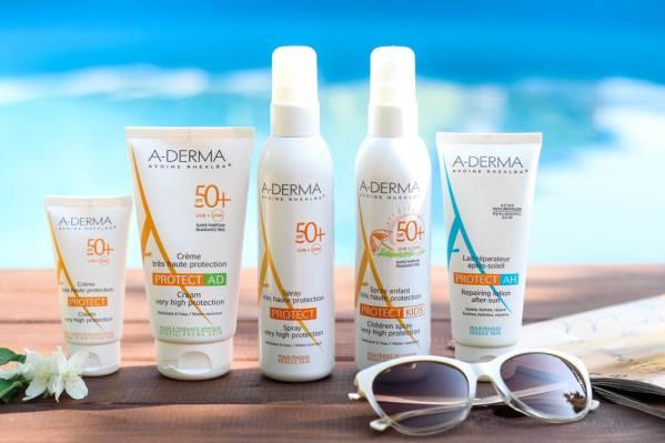 A-Derma Protect. Солнцезащитная серия.