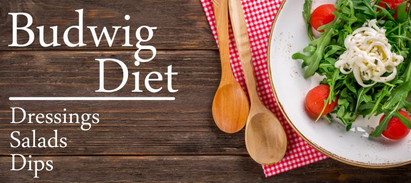 Budwig Diet Recipes – Salads, Dressings and Dips – Part 1