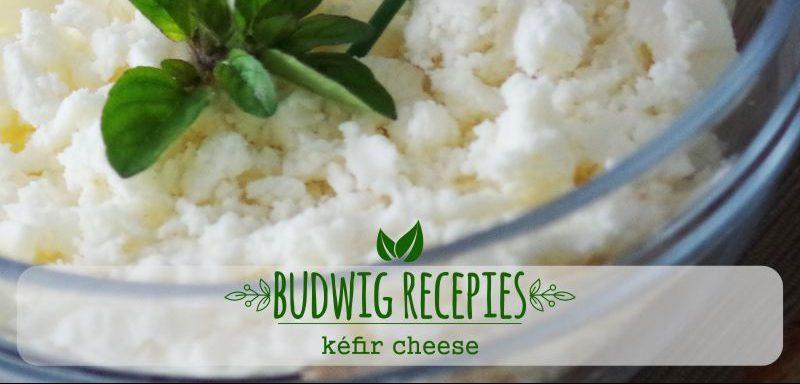 Budwig Recipes – Homemade Kefir Cheese