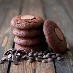 """""""Baked Edibles"""" Double Chocolate Cookie"""