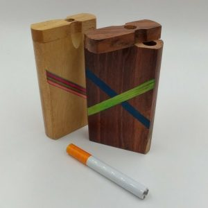 One-Hitter with wood case