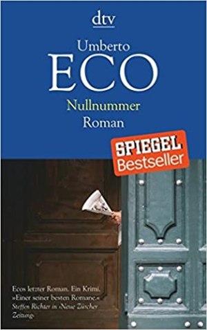 Eco, Umberto - Nullnummer