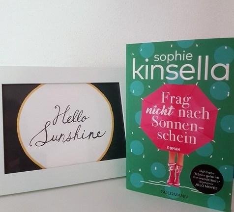 Rezension – Frag nicht nach Sonnenschein – Sophie Kinsella