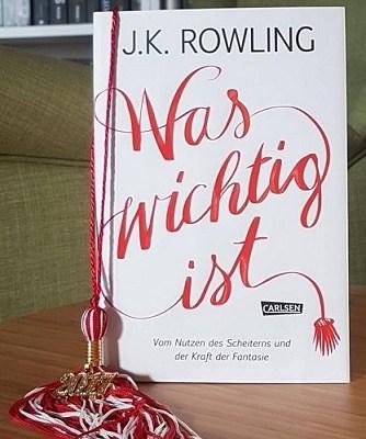 Von Neuanfängen – Was wichtig ist – J.K. Rowling