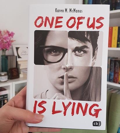 Rezension – One Of Us Is Lying – Karen M. McManus