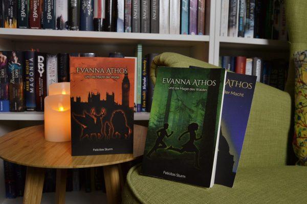 Evanna Athos und die Macht der Worte – Felicitas Sturm – Rezension