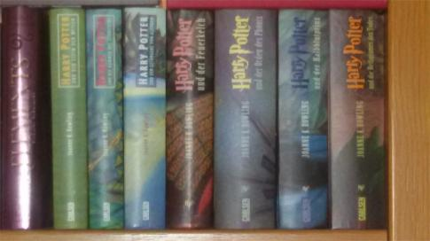 Harry Potter von Joanne K. Rowling