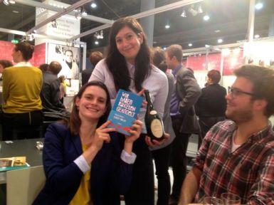 Karen Köhler mit der Bücherliebhaberin und Tilmann
