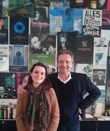 Block-er Helge Malchow und die Bücherliebhaberin