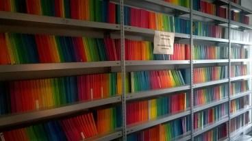 Regenbogenreihe im Suhrkamp Verlag (c) glasperlenspiel13
