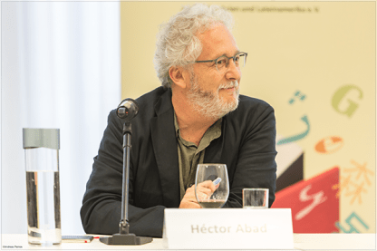 Héctor Abad in Frankfurt   ©Andreas Pleines, Frankfurt