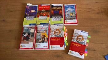 """Programm """"Leipzig liest"""" im Wandel der Zeit"""