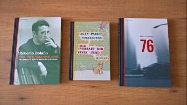 Bücher aus Lateinamerika - erschienen im Berenberg Verlag @glasperlenpiel13