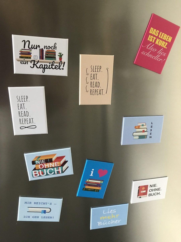 Alle Magnete - am Kühlschrank