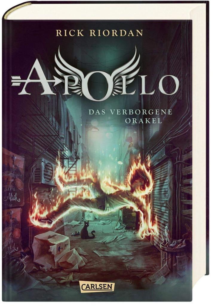Kinderbuch: Die Abenteuer des Apollo - Das verborgene Orakel