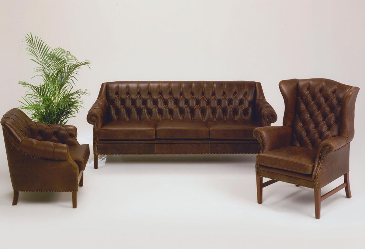 sofa billigt til salg dfs 2 seater leather bed nielaus