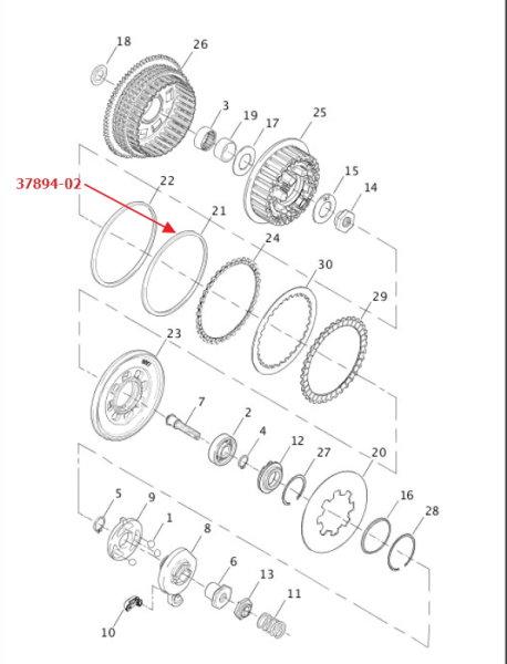 Primär / Kupplung, Seite 2
