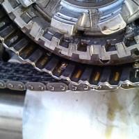 スプリングプレート破損