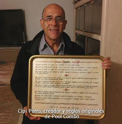 Cipi Parra y las reglas originales de Pool Combo