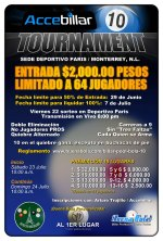 Accebillar 10 Ball Tournament