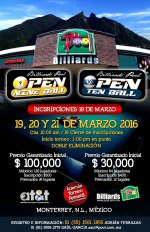 Torneo de Billar Pool