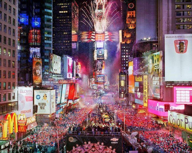 Año Nuevo en Times Square: asomate al festejo más famoso del mundo – Buena  Vibra