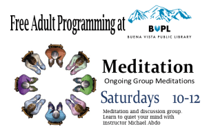 Meditation @ Buena Vista Public Library | Buena Vista | Colorado | United States