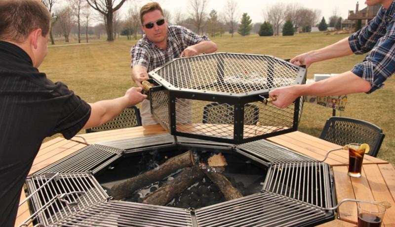 Jag Grill la mesa perfecta para barbacoas  buenespacio