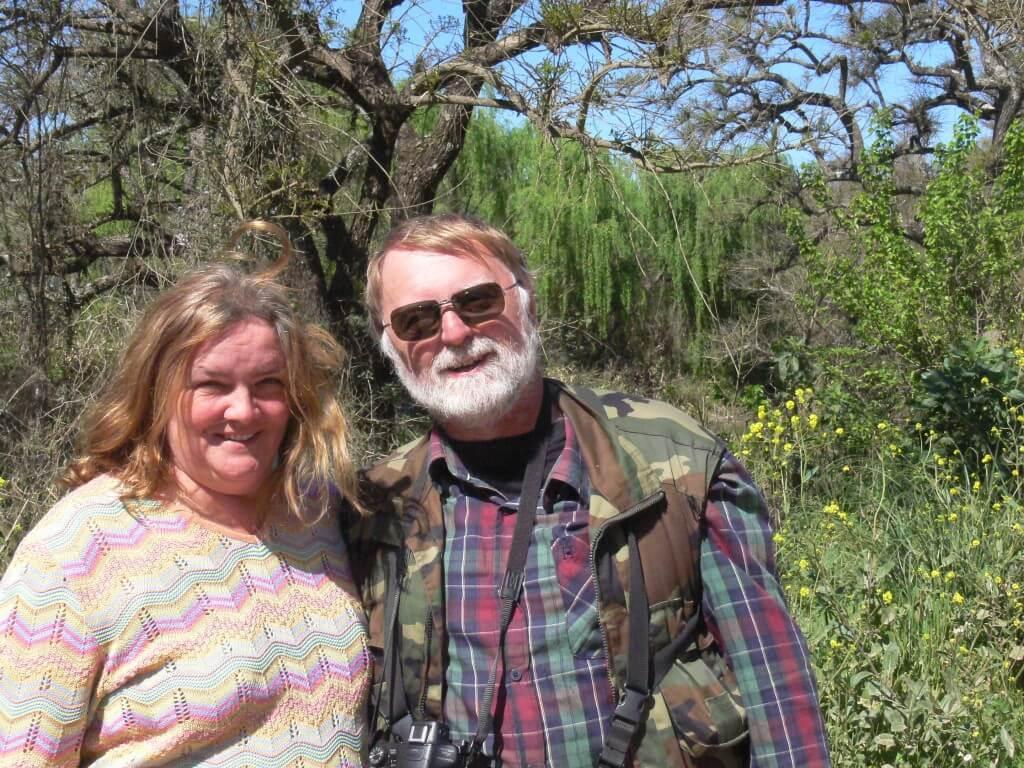 Andrea and Chris, enjoying Otamendi in September 2016.