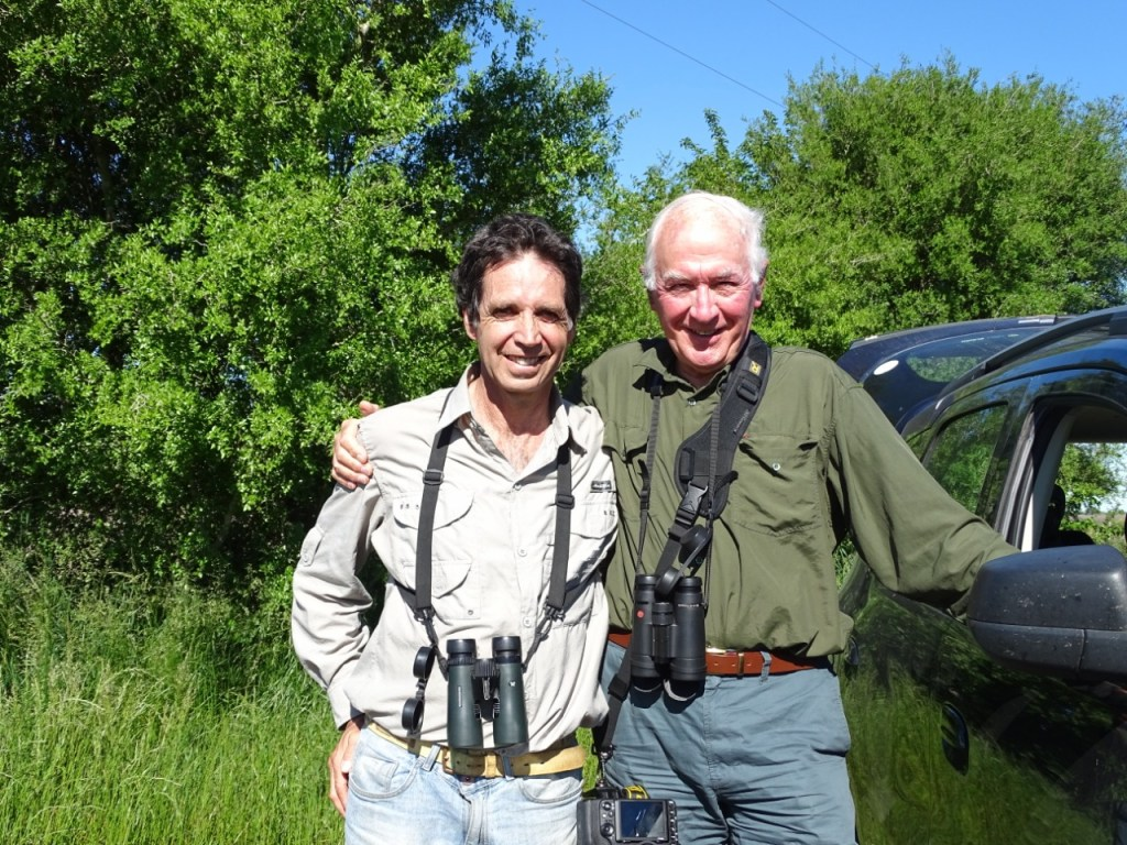 Diego and Anthony from the UK, birding thoroughly. October 2019.