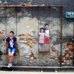 Swing Chair Penang That Will Stand You Up Street Art And Murals By Ernest Zacharevic Ba Brother