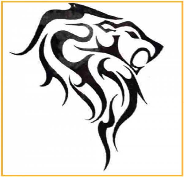 Tatuajes Lobos Tribales Aullando Name