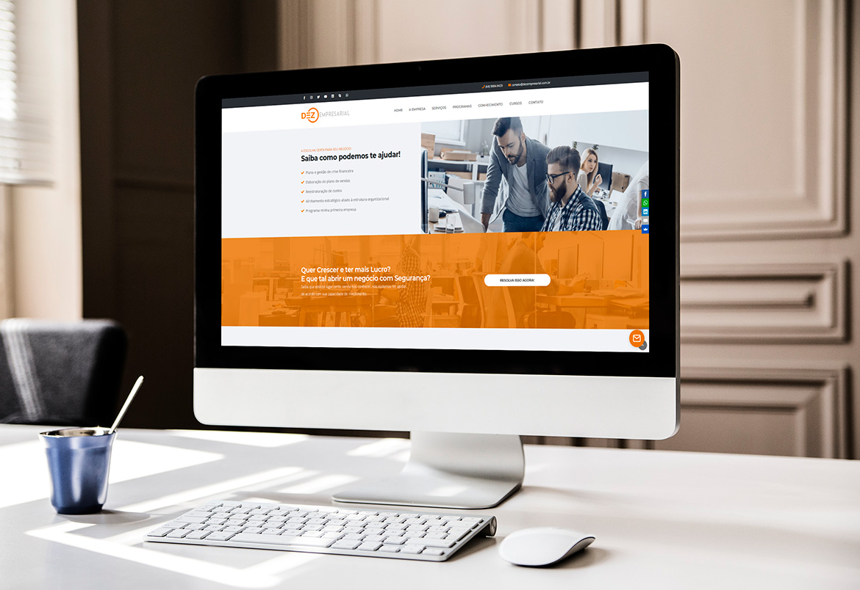 Criação de Sites WordPress - Dezempresarial - BuenoSites.com