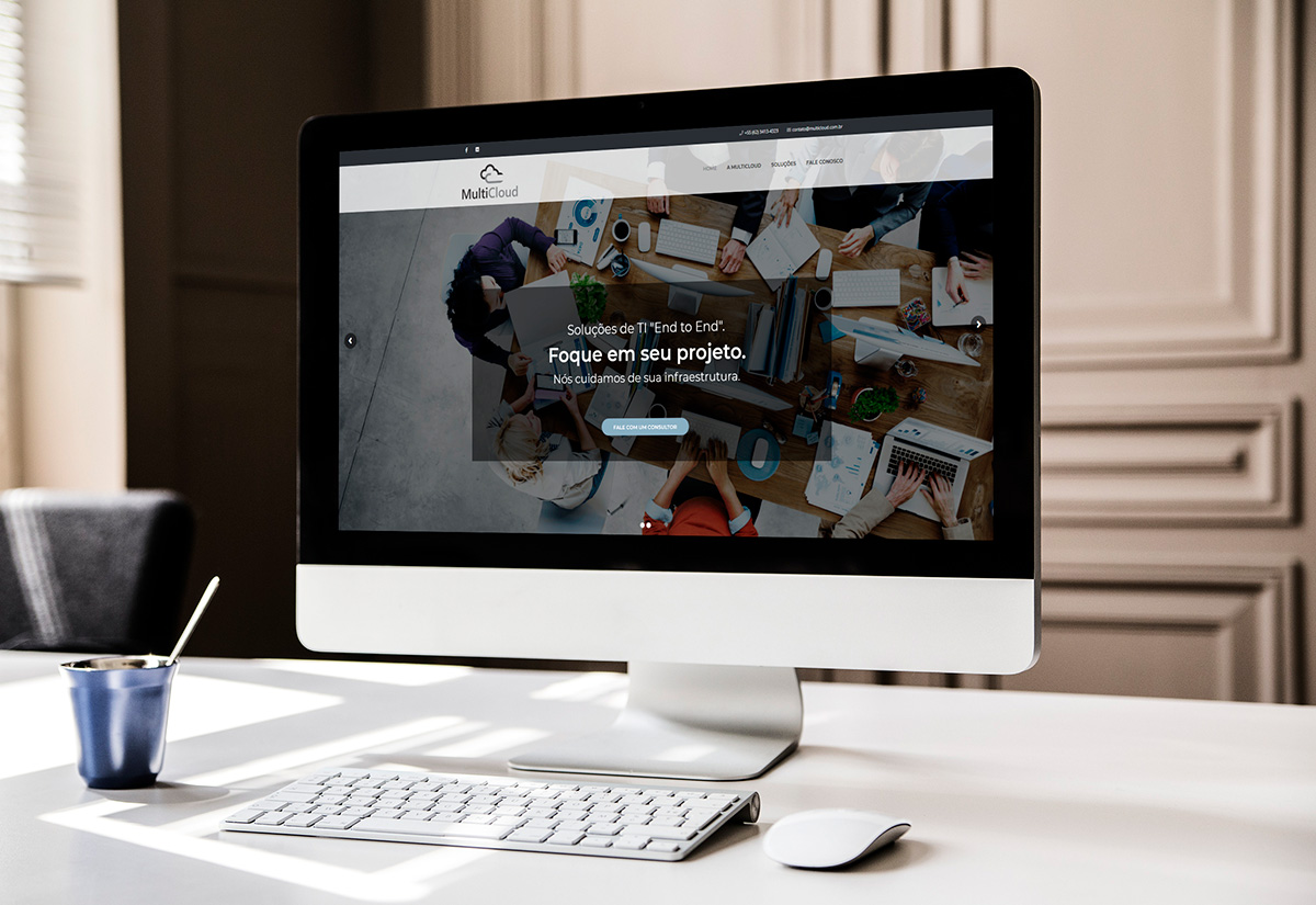 Criação de Sites WordPress - MultiCloud - BuenoSites.com