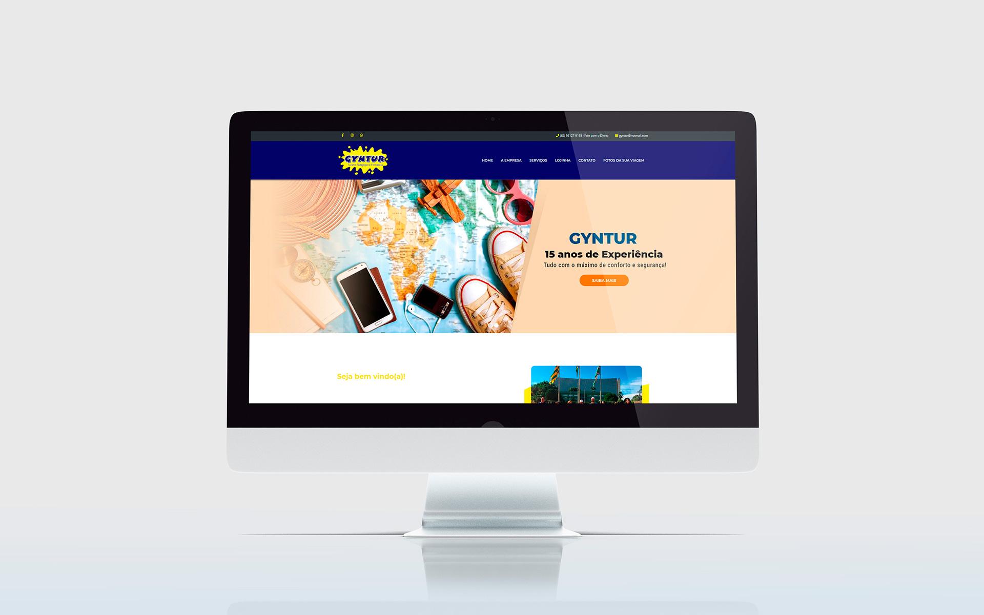 gyntur - criação de sites - Buenosites