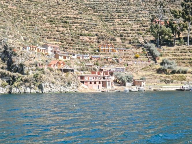 Lac Titicaca isla del sol