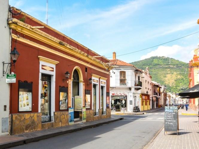 centre ville Salta en Argentine