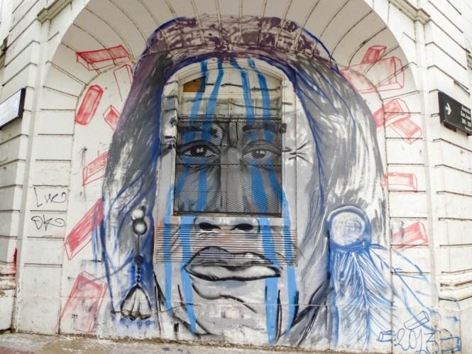 Street art de San Telmo