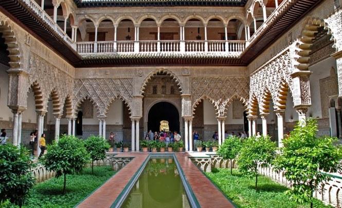 Alcazar de Séville VISITER L'Andalousie
