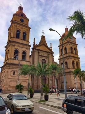 anta Cruz de la Sierra-cathedrale