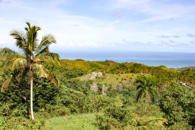 montagne à Las Terrenas en République dominicaine