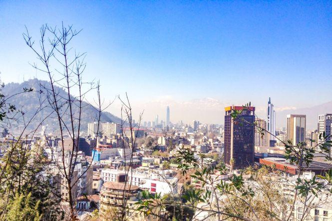 Santiago du Chili cerro SanCristobal que voir au chili